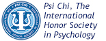 Psi Chi: The International Honor Society in Psychology